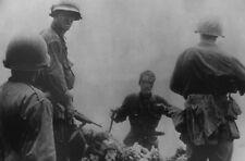 WWII photo lieutenant of the Japanese imperial fleet surrenders Okinawa war 1o