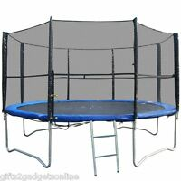 Replacement Trampoline Safety Net Enclosure Surround 8FT 10FT 12FT 14FT