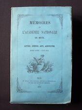 Mémoires de l'académie nationale de Metz - 1850-1851 - Broché