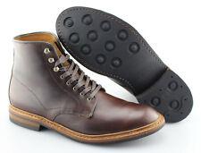 Men's ALLEN EDMONDS 'Higgins Mill' Brown Leather Boots Size US 10 - D