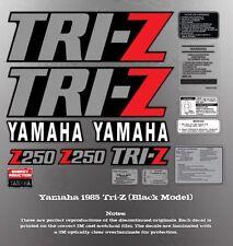 YAMAHA 1985 TRI-Z 250 FENDER SHROUD (5 speed transmission) DECALS GRAPHICS