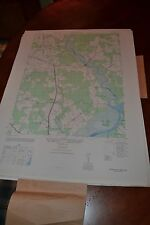 1940's Army topographic map Rhodesdale Maryland -Sheet 5861 Iii Se