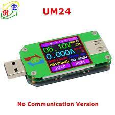 RD UM24 USB 2.0 Color LCD Display Tester voltage current meter Voltmeter amp