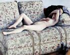 Print - Nude on a Couch by Gustave Caillebotte