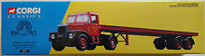 Corgi Classics Scammell Highwayman & 33ft Trailer Set Siddle C Cook Ltd 16401
