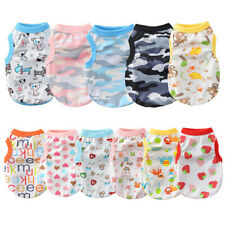 9PCS Wholesale Small Girl Boy Dog Clothes for Cat Puppy Shih Tzu Size XS S M L