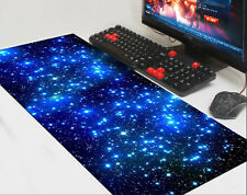 Blue Extra Large Non-Slip Gaming Mouse Pad Keyboard Mat Desk Mousepad AU Stock