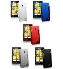 Custodia WAVE S Line per Nokia Lumia 530 RM-1017 Cover Morbida Gomma Gel Silicon