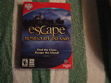 Escape Rosecliff Island  (PC, 2009)  Rated E for Everyone, Win Mac CD-Rom