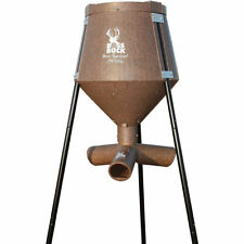 Boss Buck 200 Pound Gravity Fed Tripod Game Deer Corn and Protein Pellet Feeder