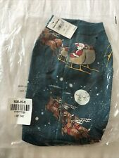 Hanna Andersson Christmas Dog Outfit Xs