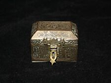 petite boite islamique en laiton