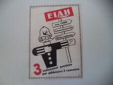 advertising Pubblicità 1948 ELAH MOU CUBIK/CREMA DA TAVOLA/GHIACCIO MENTA