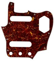 For Fender 4-Ply US Classic Player Jaguar Guitar Pickguard,Red Tortoise