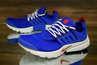 Nike Air Presto Essential Racer Blue Red 848187-408 Running Shoes Men Size 9 NEW