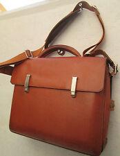 -AUTHENTIQUE  sac de voyage PIQUADRO cuir  TBEG vintage bag
