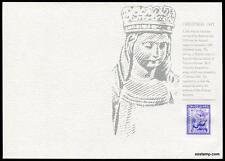 Australia Replica Card #22 1962 Christmas Stamps Die Proof