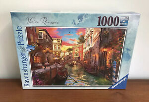 Ravensburger 1000 Piece Jigsaw Puzzle - Venice Romance - Brand New & Sealed