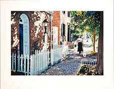 """Susan Rios - """"Georgetown"""", hand-signed serigraph on paper"""