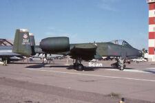 Original 35mm Slide Military Aircraft/Plane Usaf A-10 75-260 Apr 1990 #P3177