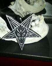 Handmade Baphomet Necklace Large Pendant Occult Satan Horror