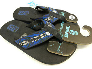 Teva Kids Sandals Mush II Ambra Strong Blue Kids Size 12 | new with tags