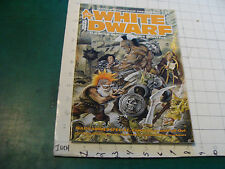 vintage HIGH GRADE Unread Magazine: WHITE DWARF #82, 62 pages