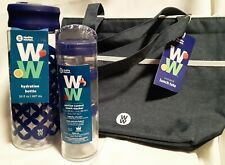 Weight Watchers Lunch Tote Water Bottle & Snack Stacker