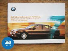 NEW GENUINE BMW 7 SERIES E38 DEUTSCH OWNERS HANDBOOK 1999 - 2001 01400004599 DE