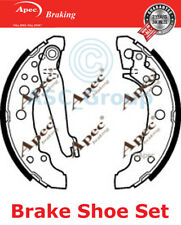 Apec Braking Replacement 180mm x 31mm Drum Brake Shoes Set SHU300 (with lever)