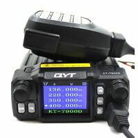 QYT Mobile Radio 25W KT-7900D Quad Band 144/220/350/440MHz Walkie Talkie