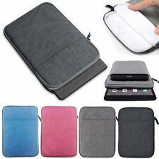 Zipper Sleeve Bag Case Pouch For Samsung Galaxy Tab A E S 2 3 4 7-10 Tablets New