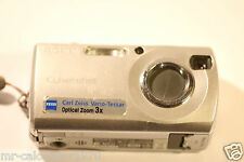 Sony Cyber-shot DSC-S40 4.1MP Digital Camera - Silver