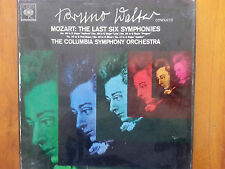 Bruno Walter Conducts MOZART: The Last Six Symphonies - The Columbia Symphony