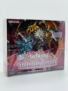 YUGIOH!! Legendary Duelists: Rage of Ra Display! LED7! Neu&OVP! EN Ghost Rare Ra