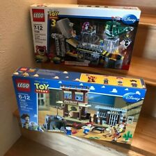 NIB LEGO DISNEY TOY STORY LOT WOODYS ROUNDUP 7594 & TRASH COMPACTOR ESCAPE 7596