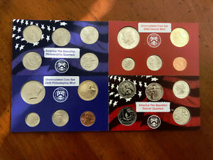 2020  P /& D DIMES 1 Denver and 1 Philadelphia FROM UNCIRCULATED SETS