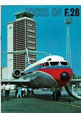 Focus on F.28 Fokker 1969