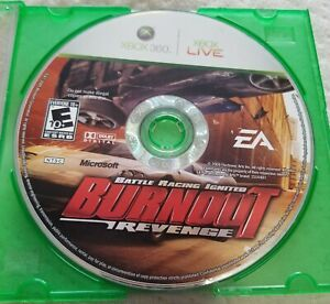 Burnout Revenge Microsoft Xbox 360 Disc Only Tested Working
