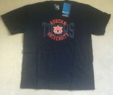 NEW NCAA Auburn Tigers T Shirt Youth Boys L Large 10 12 - Navy Blue - NEW NWT