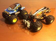 LEGO 4585 RACERS NITRO PULVERIZER + LEGO 8468  RACERS POWER CRUSHER