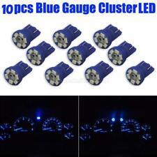 10x 2825 W5W 194 Gauge Cluster Instrumental T10 Wedge Blue 12V LED Light Bulbs