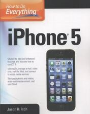 How to Do Everything: iPhone 5 Rich, Jason R. Paperback