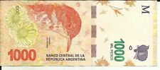 ARGENTINA 1000 PESOS 2017  P NEW. XF CONDITION. 6RW 14GEN