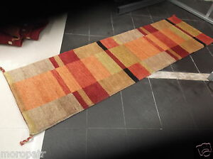 HAND-KNOTTED 8 FOOT RUNNER, BRAND NEW, VERY THICK, 100% PURE  WOOL.  FREE DEL.