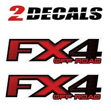 Ford FX4 Off Road Decals Stickers NEW- 1997-2010) Super Duty F150 F250 F350 F450