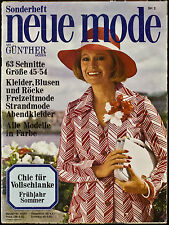 Neue Mode Chic für Vollschlanke F/S SH 2 1975 B4080
