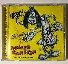 Red Bacteria Vacuum - Roller Coaster, Punk Rock, Japanese Import CD Autographed