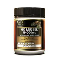 [Go Healthy] New Zealand Green Lipped Mussel 19,000mg 300 Capsules EXP04/2023