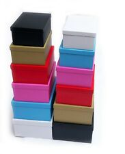 Gift Storage Boxes All Occasions Cardboard Large Stack A4 A5 A6 Shelf Postal New